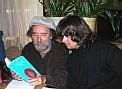 """Schrifsteller Peter Henisch und Jason """"Jim"""" Boiler sinnieren über Henischs Buch """"Morrisons Versteck"""""""