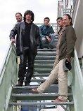 """von re. nach li.: Klaus Bergmaier (Orgel),  Frontman und Lead-Sänger Jason """"Jim"""" Boiler , Galik (E-Gitarre), Martin Plangl (Bass) und Christoph Zauchinger (Schlagzeug)"""